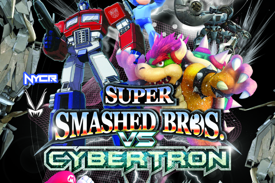 Super Smashed Bros III (NYC Ravers) VS Cybertron (VampireFreaks) 10.11.14
