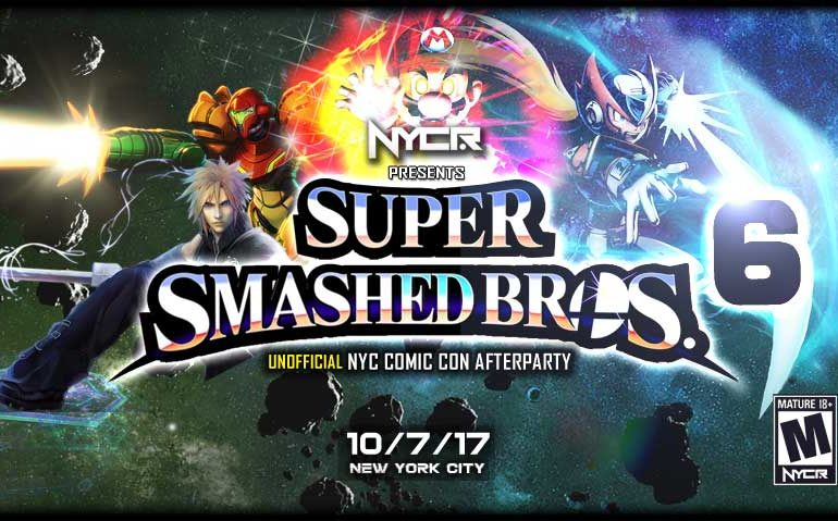 Super Smashed Bros 6 : NYC Comicon 2017 Afterparty