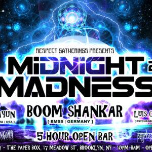 Midnight Madness NYE NYC