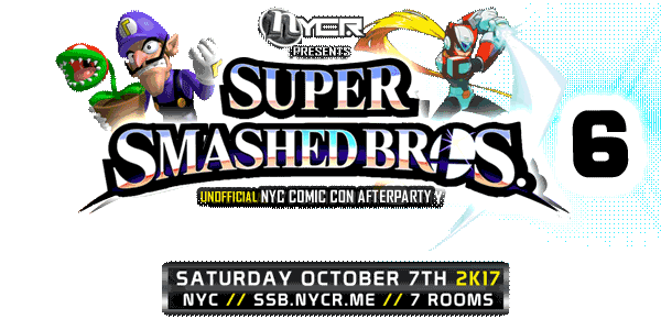 Super Smashed Bros 6 logo