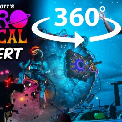 360° Travis Scott Astronomical Fortnite Concert...