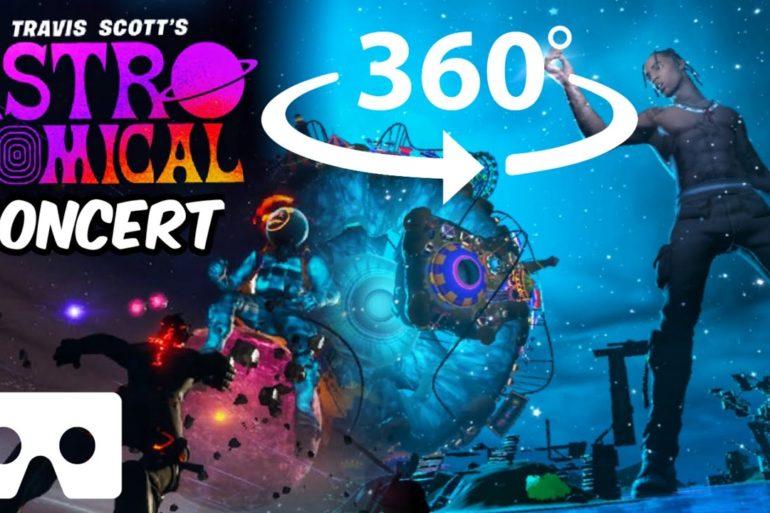 360° Travis Scott Astronomical Fortnite Concert...
