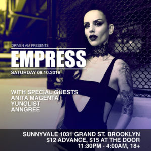8-10-19-Empress by Driven AM