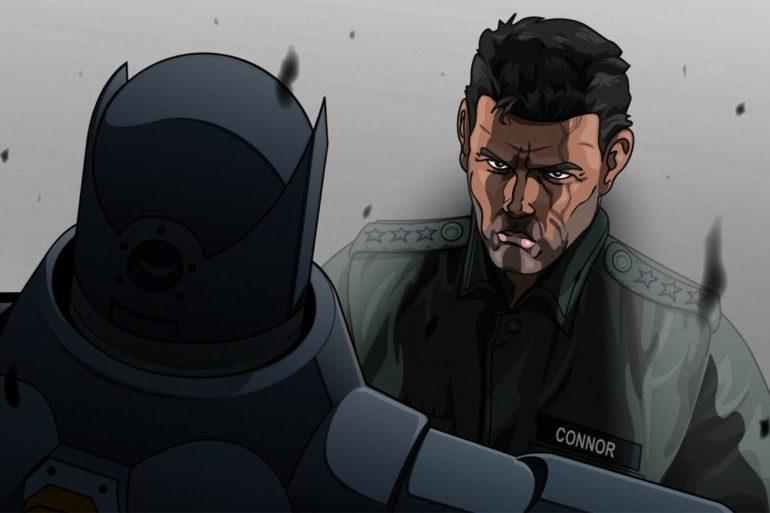 Batman versus The Terminator