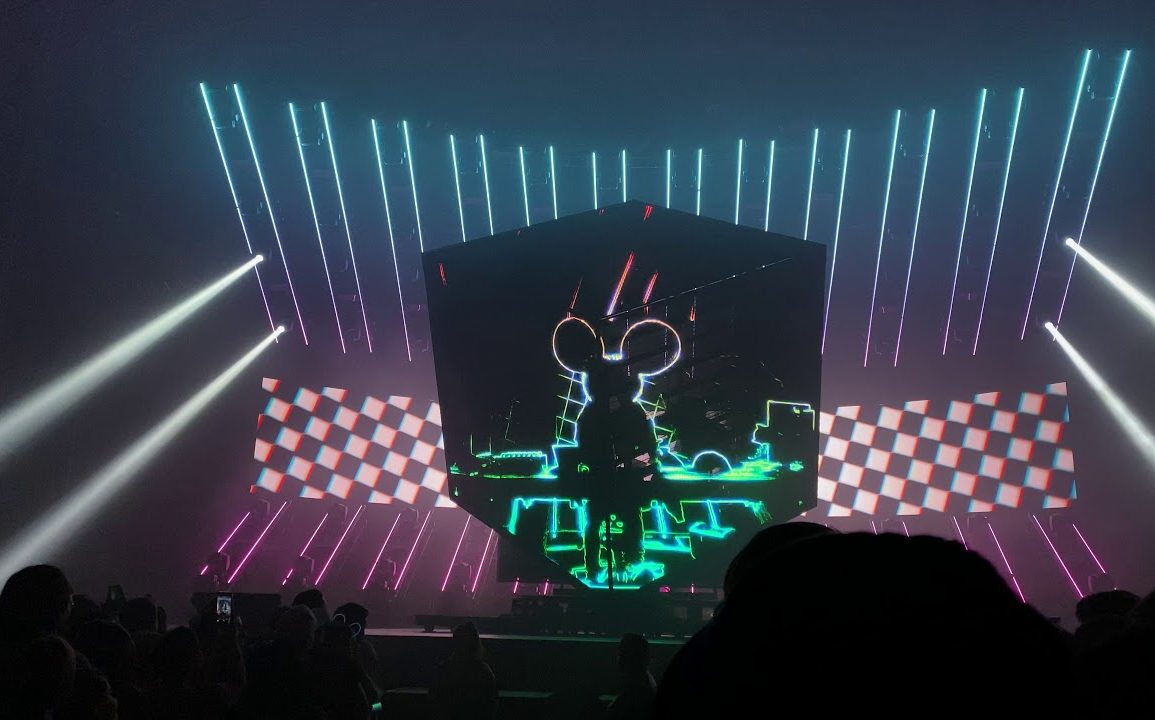 Deadmau5 CubeV3 Chicago First 18 Minutes 4K