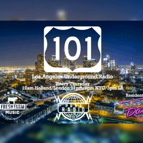 Guest Mix for 101 LA Underground Radio - March 28 2019