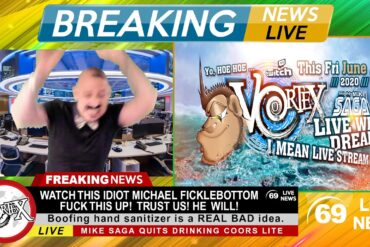 Michael FickleBottom Reports On This Fridays Vortex Live Stream