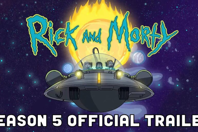 OFFICIAL TRAILER: Rick and Morty Season 5 | adult swim