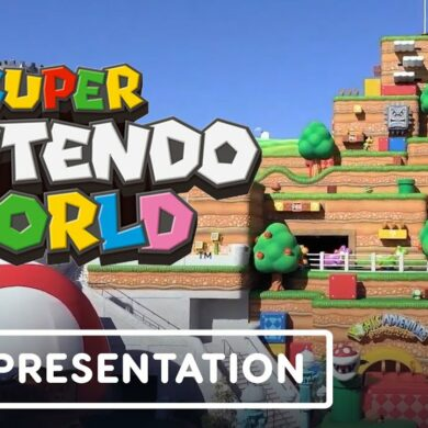 Super Nintendo World - Official Tour with Shigeru Miyamoto