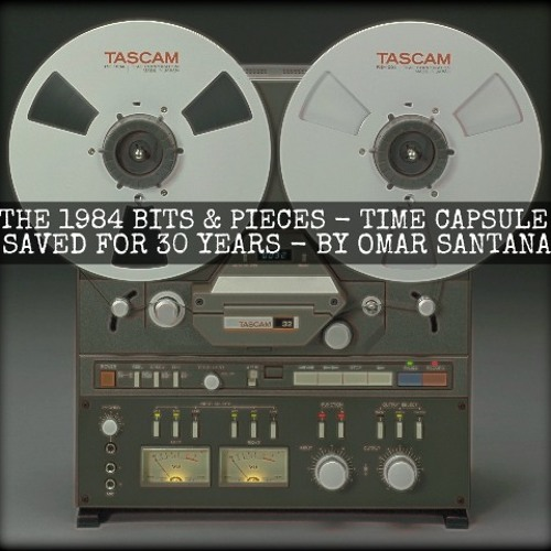 THE 1984 BITS & PIECES - TIME CAPSULE SAVED FOR 30 YEARS BY OMAR SANTANA