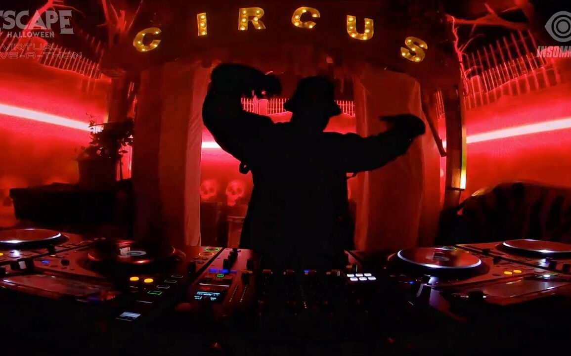(WATCH) Gravedgr - Escape Halloween Virtual Rave-A-Thon