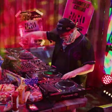 (WATCH) Kill The Noise for BackHARD Summer BBQ Virtual Rave-A-Thon (August 7, 2020)