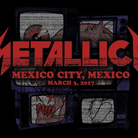 (WATCH) Metallica: Live in Mexico City, Mexico - March 3, 2017