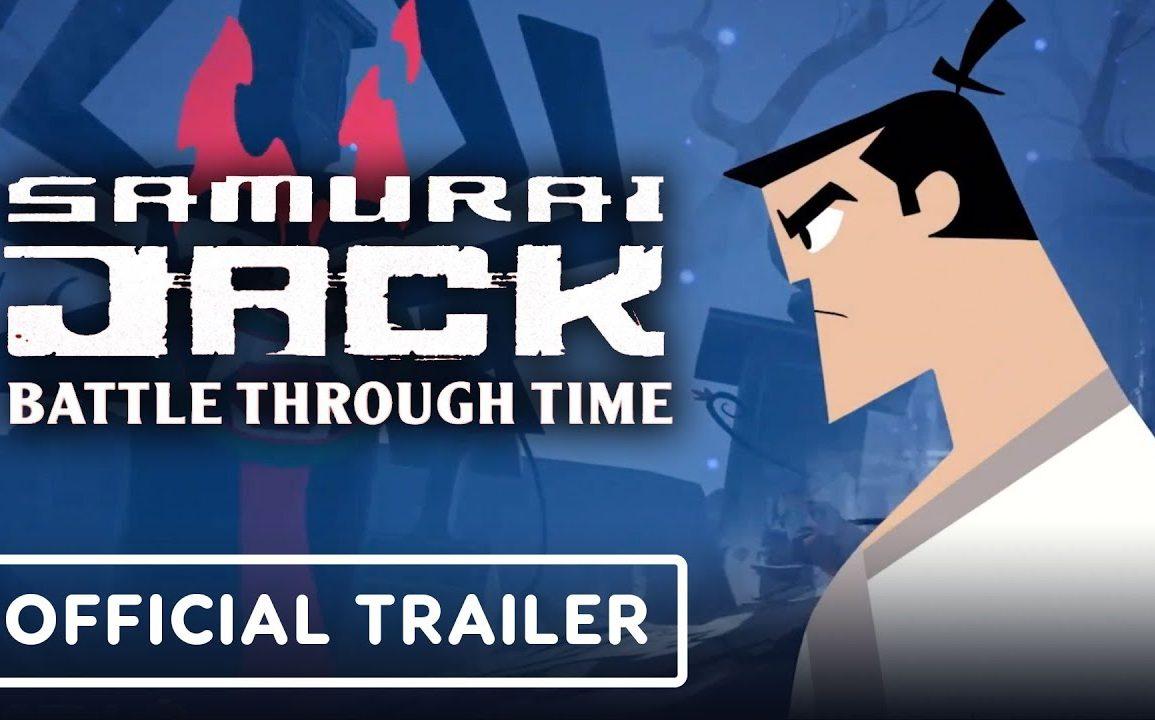 (WATCH) Samurai Jack: Battle Through Time - Official Release Date Trailer