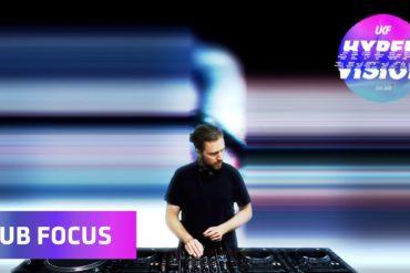 (WATCH) Sub Focus DJ Set - visuals by Rebel Overlay (UKF On Air: Hyper Vision)