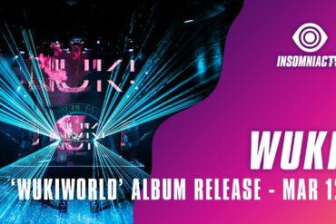 Wuki for 'WukiWorld' Album Livestream (March 12, 2021)