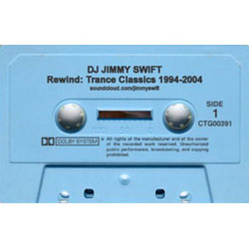 Jimmy Swift DJ Mix: Rewind - Trance Classics 1994-2004 Aug 2013 by Jimmy Swift