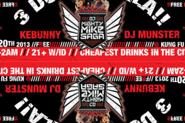 Rave Legend Sundays - Mighty Mike Saga : Live @ $3Holla Kung Fu Neck Tie