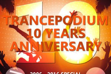 Trance Wednesdays : John 00 Fleming @ TrancePodium 10th Anniversary Celebration on AH.fm (29-09-2016)