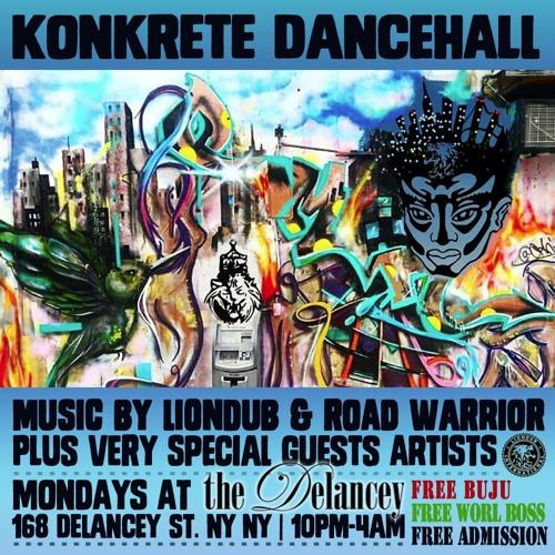 liondub : LIONDUB - 03.13.18 - KONKETE DANCEHALL NYC (LIVE)- FREE DL