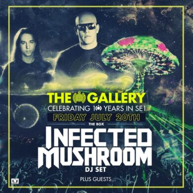 The Gallery : Infected Mushroom (26 m)