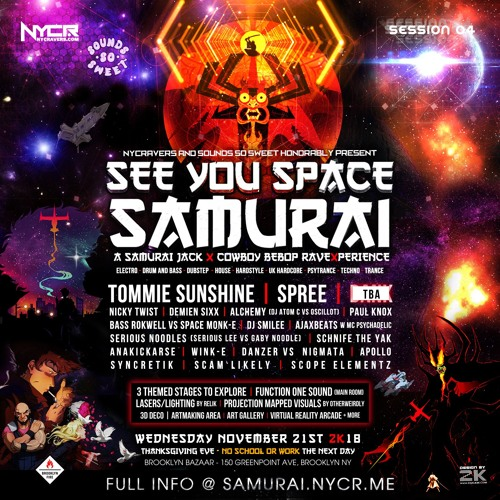 Scope Elementz : See You Space Samurai Promo Mix