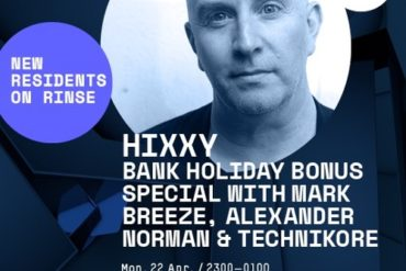 Mark Breeze Guest Mix on Rinse FM - Hixxy Show (Bank Holiday Bonus Special - Monday 22nd April 2019 by markbreeze