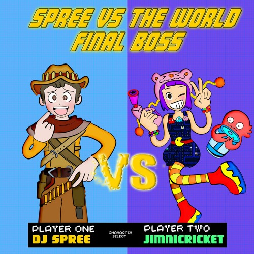 DJ Spree Vs Jimnicricket (spree vs the world) by jimnicricket