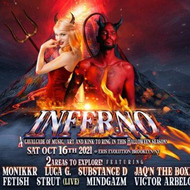 10.16.21 Luca's Lounge Inferno by MindGazm