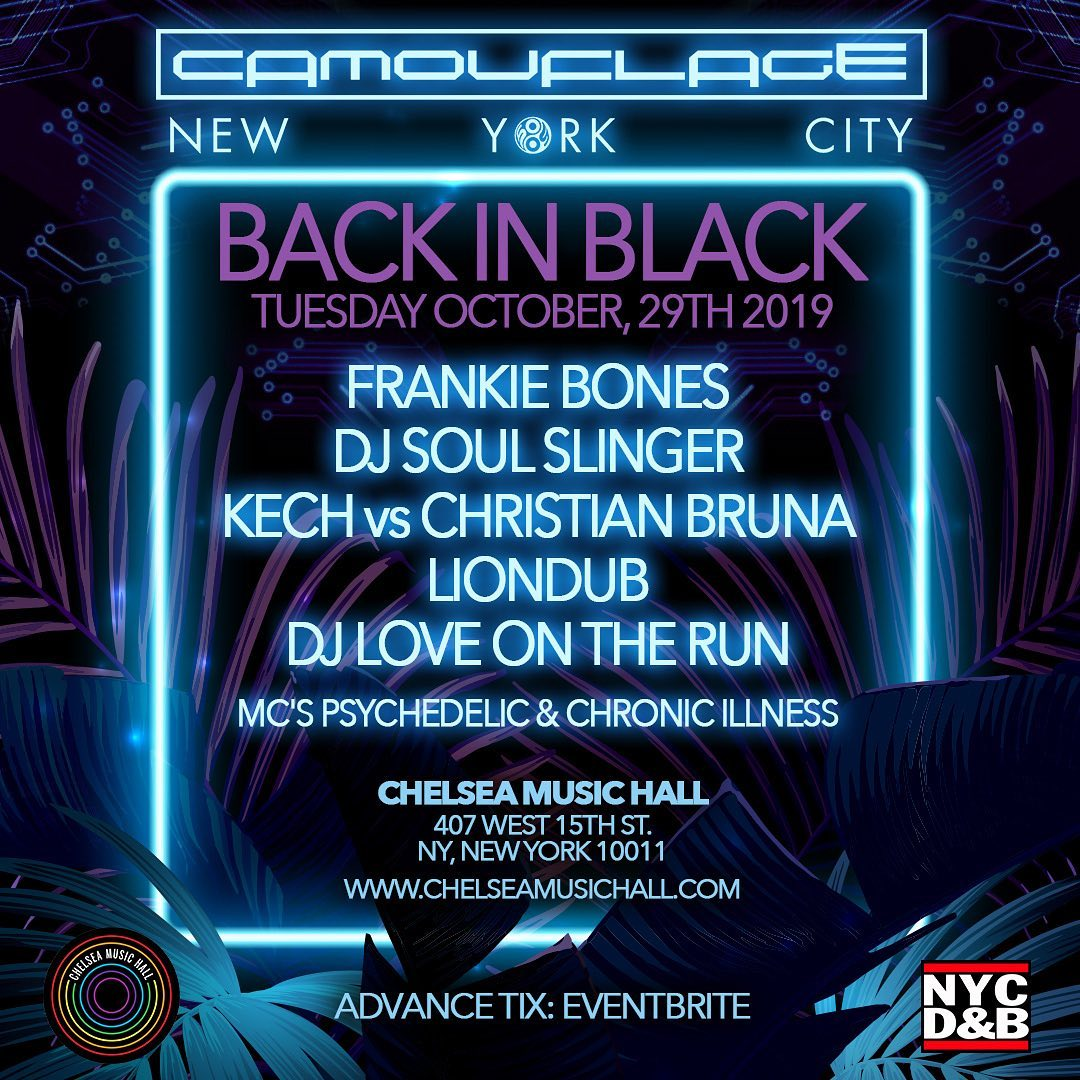 Event Raview: Camouflage, Back in Black at Chelsea Music Hall.