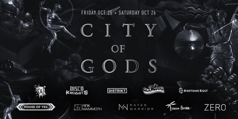 Event Raview: City of Gods Halloween 2019.