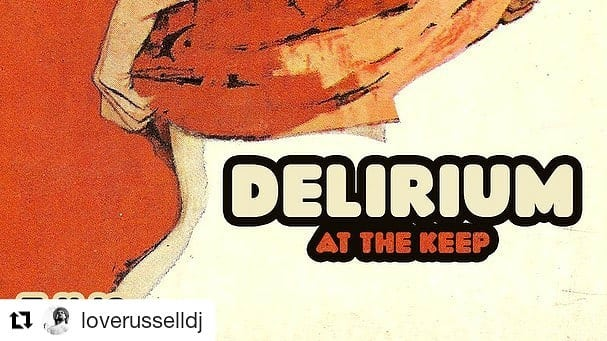 Places to go: Delirium at The Keep and Pixelated Warehouse Party in Brooklyn, NY.