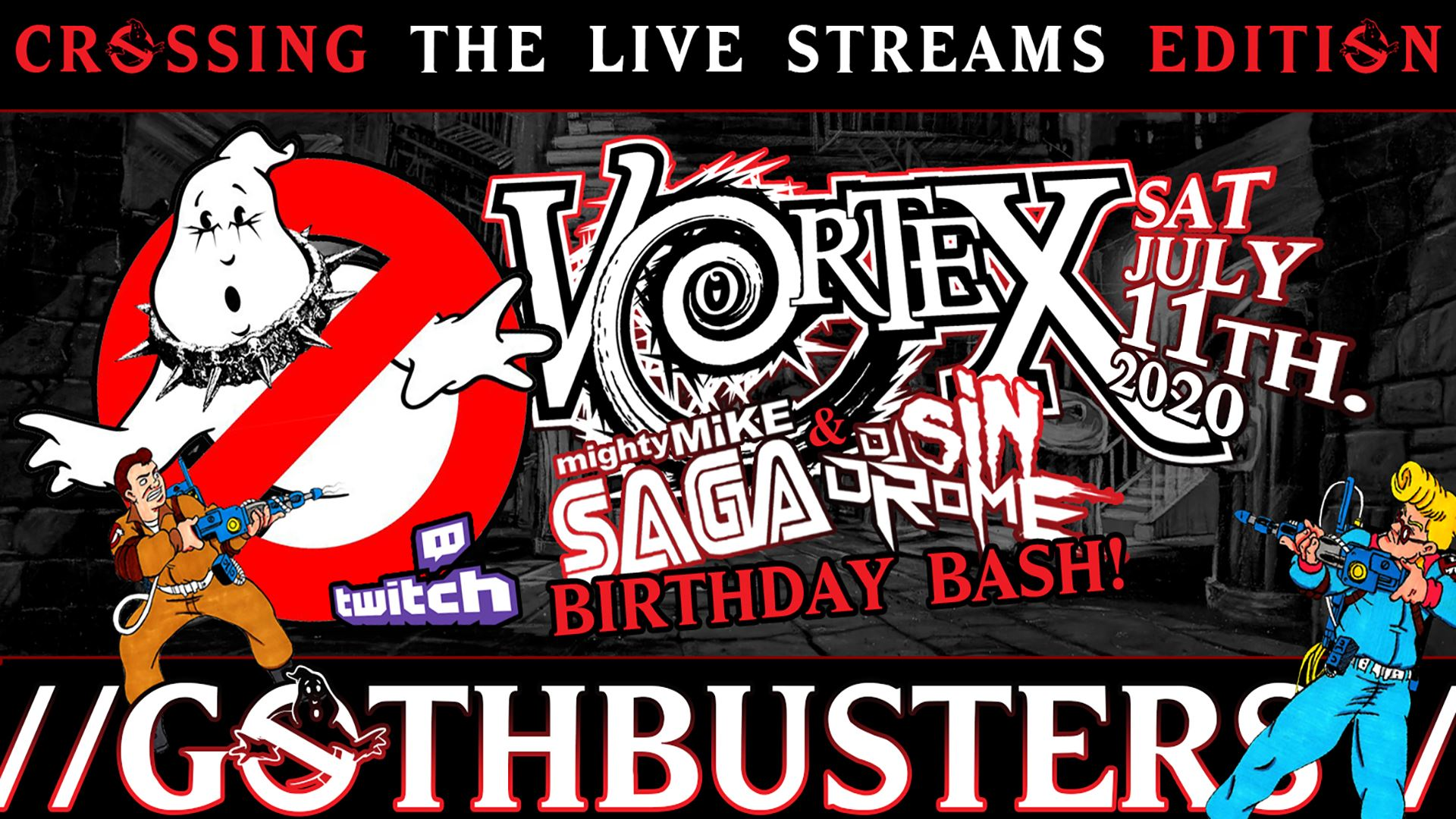 Vortex GothBusters - Crossing the Streams Edition!