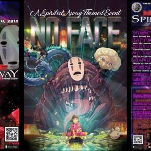 "No Face: a ""Spirited Away"" Themed Event"