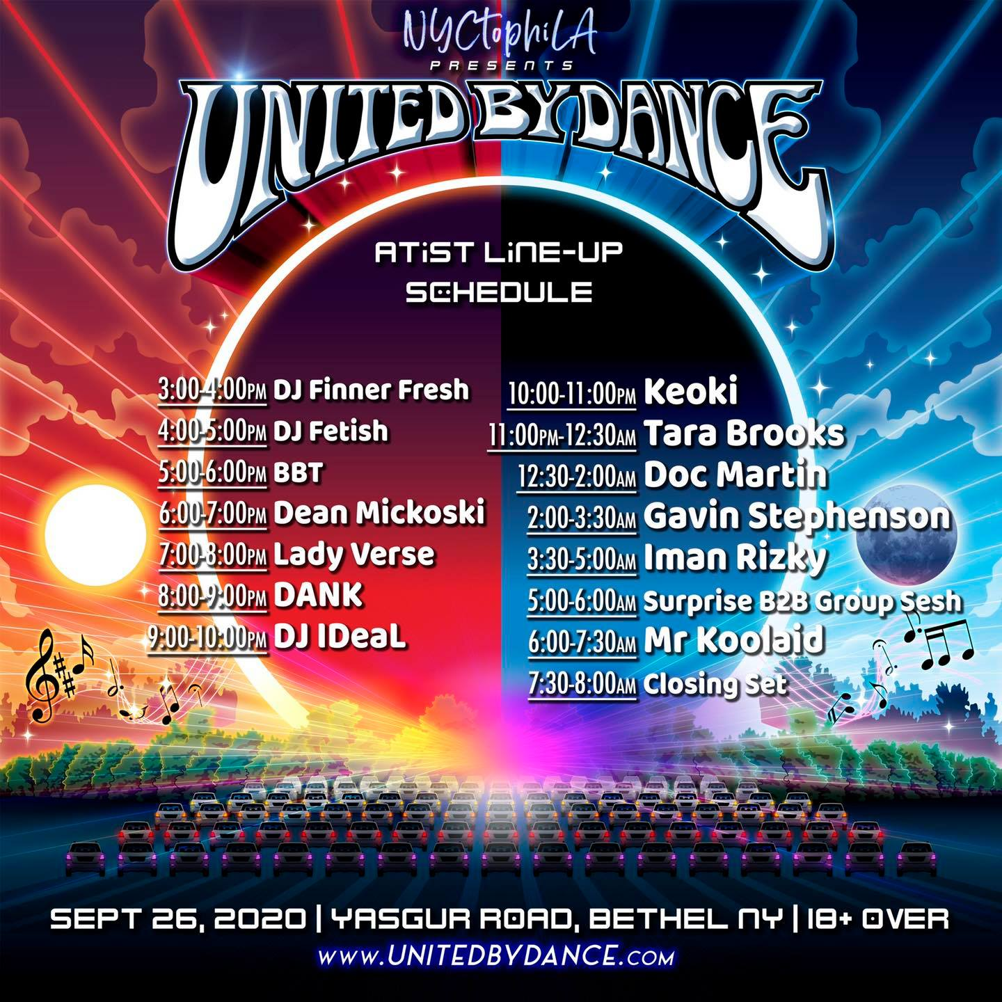 United By Dance Camping & Drive-In Gathering