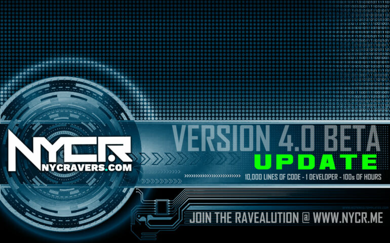 NYCRavers.com Version 4.0 Almost There