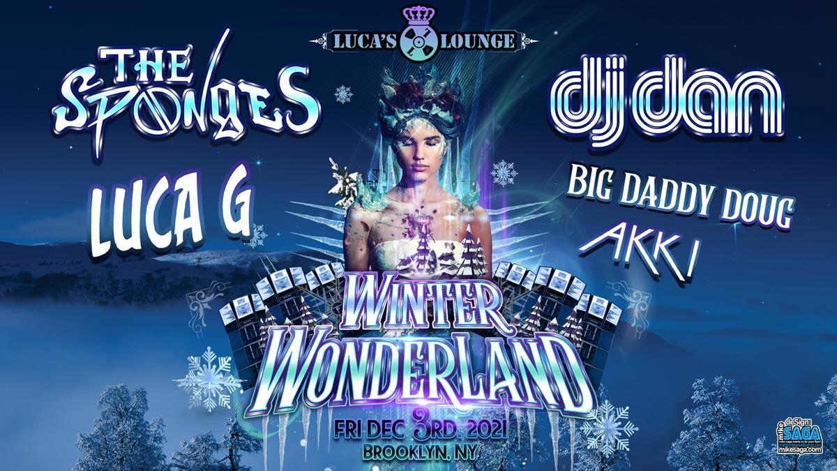 Winter Wonderland with The Sponges and DJ Dan