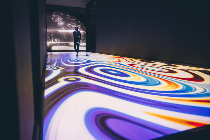 Zerospace - An Interactive, Immersive, Psychedelic Museum in New York City.